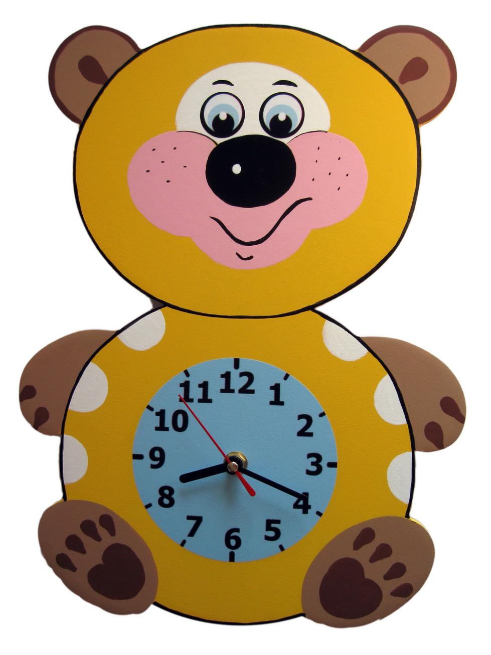 Часы медвежонок своими руками